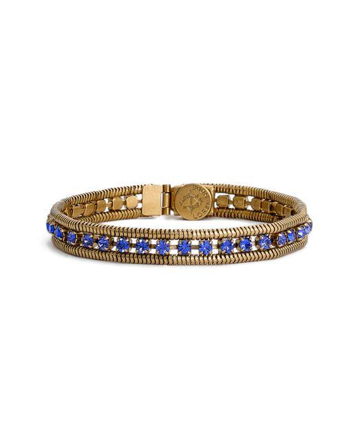 Loren Hope - Blue 'clara' Crystal Bracelet - Lyst