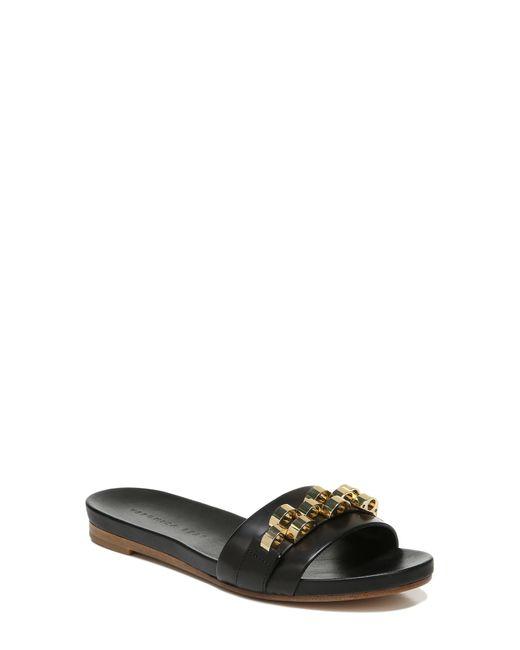 Veronica Beard Black Eni Slide Sandal