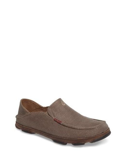 Olukai - Brown Moloa Kapa Slip-on for Men - Lyst