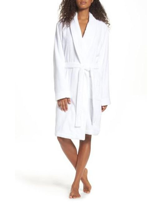 Nordstrom - White Terry Robe - Lyst