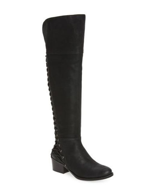 Vince Camuto | Black Bolina Over The Knee Boot | Lyst