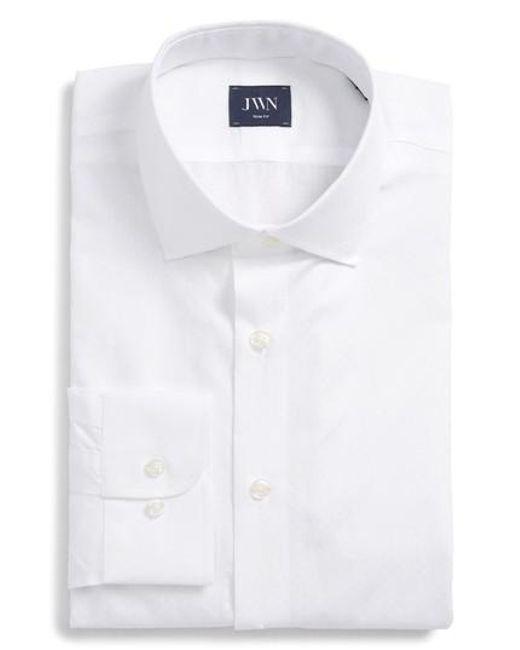 John W. Nordstrom® Traditional Fit Paisley Dress Shirt