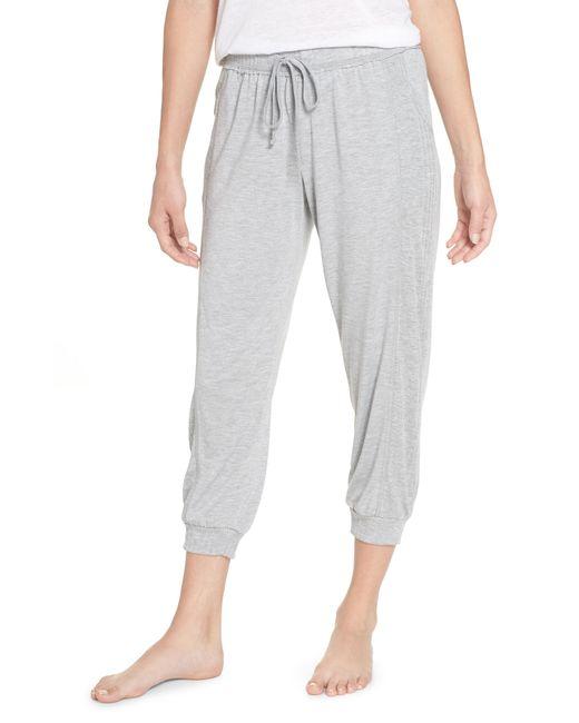 Splendid - Black Crop Pajama Pants - Lyst
