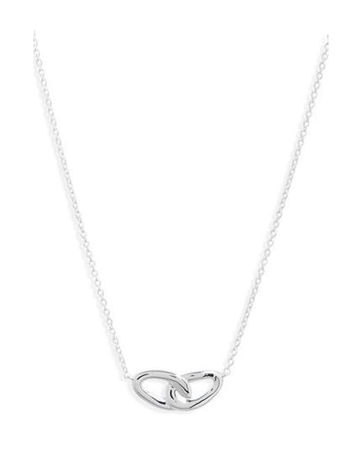 Ippolita Cherish Interlocking Link Necklace with Diamonds GDCIiHpyt