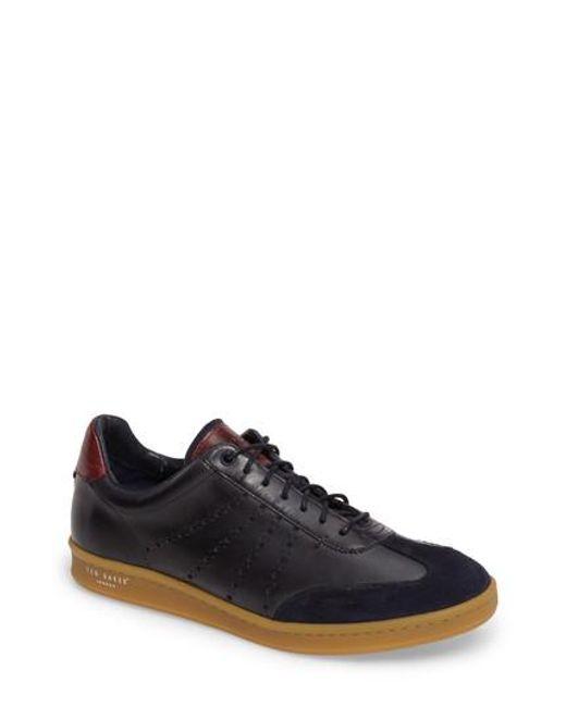 Ted Baker - Blue Orlee Sneaker for Men - Lyst