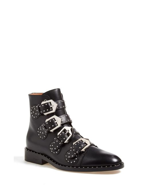 Givenchy Black K-line Leather Boots