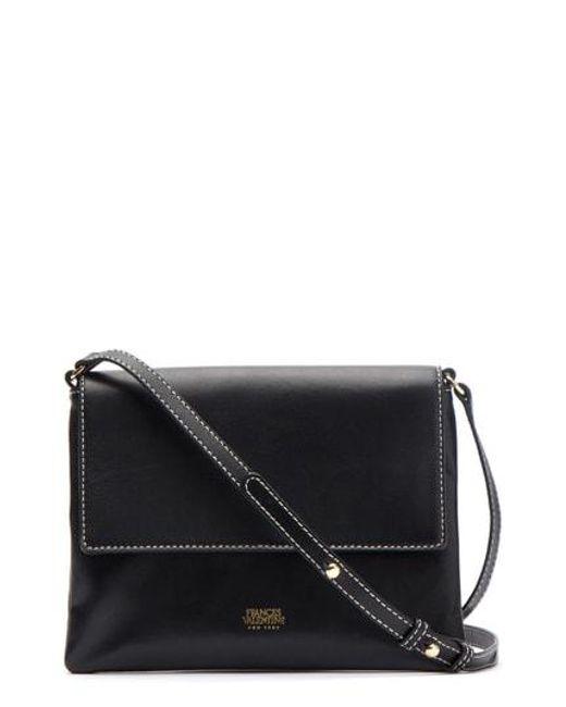 0f1b62f8eae5 Lyst - Frances Valentine Maggie Leather Crossbody Bag - in Black