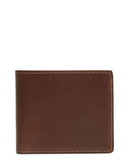 Nordstrom - Brown Wyatt Rfid Leather Wallet for Men - Lyst