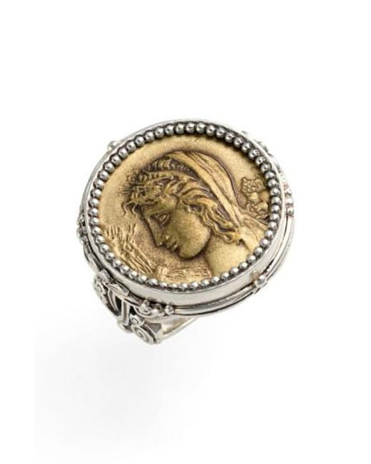 Konstantino | Metallic 'demeter' Coin Ring | Lyst