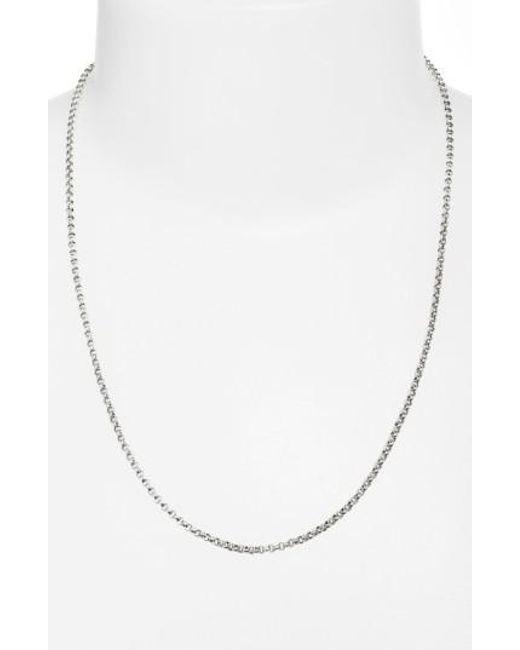 Konstantino | Metallic 'classics' Link Necklace | Lyst