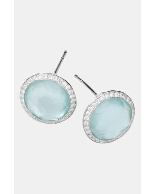 Ippolita - Metallic 'Rock Candy - Stella' Diamond & Stone Stud Earrings - Lyst