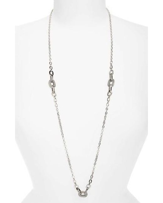 John Hardy | Metallic Dot Sautoir Station Necklace | Lyst