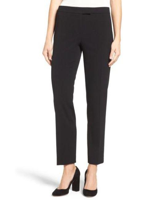 Anne Klein | Black Slim Suit Pants | Lyst