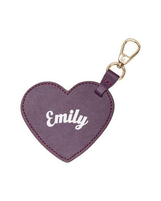 POP AND SUKI | Multicolor Smaller Heart Personalized Bag Charm - Purple | Lyst