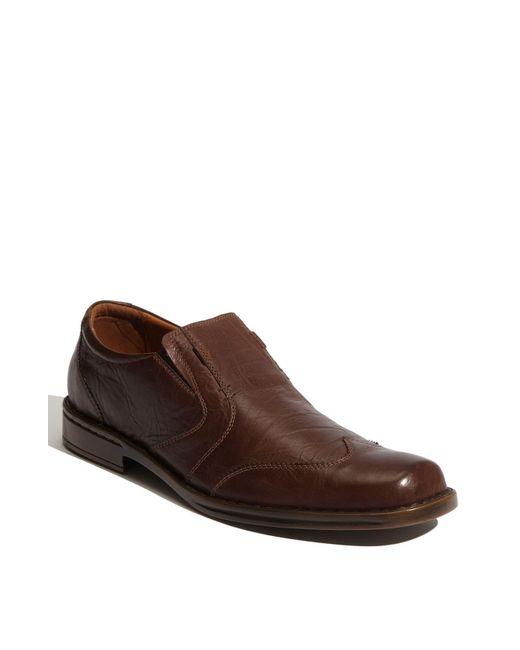 Josef Seibel Brown 'douglas' Venetian Loafer for men