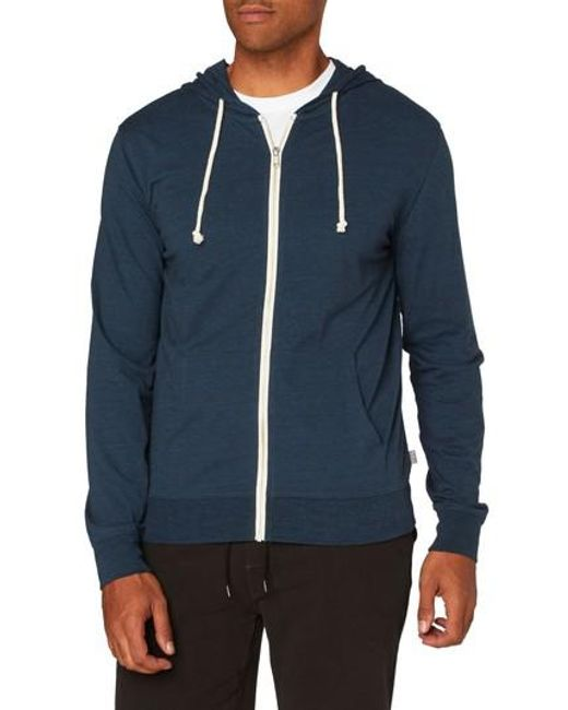 Threads For Thought | Blue Giulio Zip Hoodie for Men | Lyst