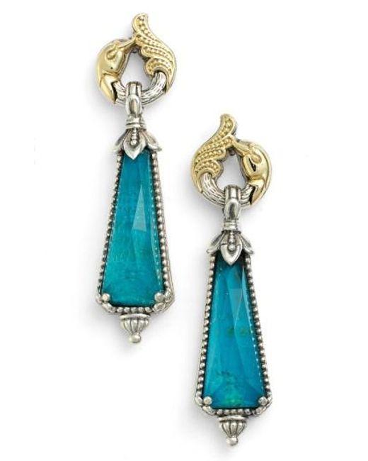 Konstantino | Blue 'iliada' Doublet Drop Earrings | Lyst