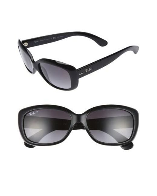 Ray-Ban - Gray 58mm Polarized Sunglasses - Lyst
