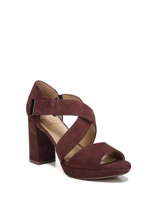 Naturalizer | Brown Harper Platform Sandal | Lyst