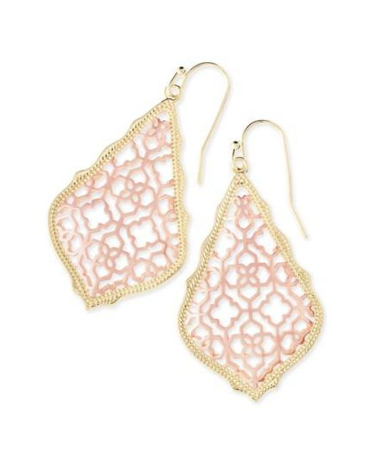 Kendra Scott | Metallic 'addie' Drop Earrings | Lyst