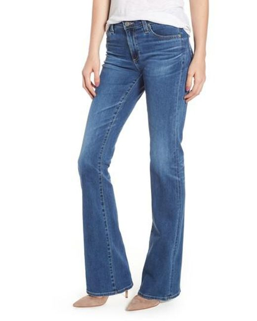 AG Jeans - Blue Angel Flare Jeans - Lyst