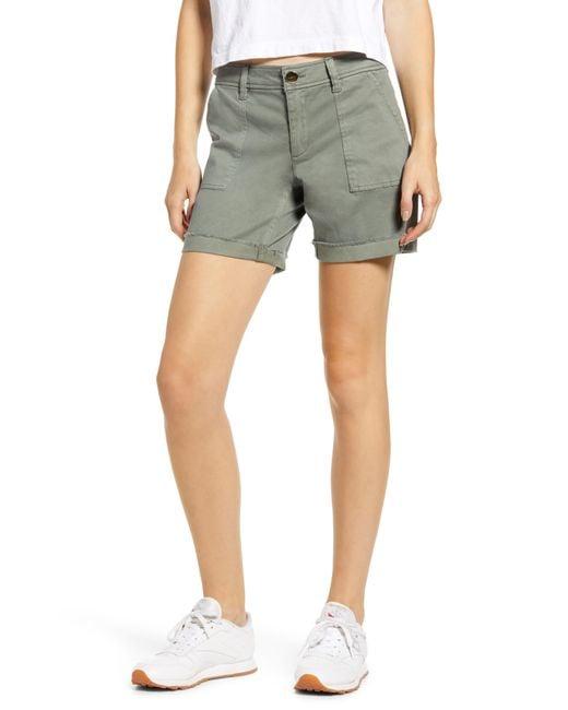 Tinsel Green Bermuda Shorts