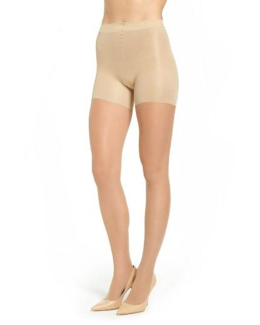 Spanx | Natural Spanx Leg Support Sheers | Lyst