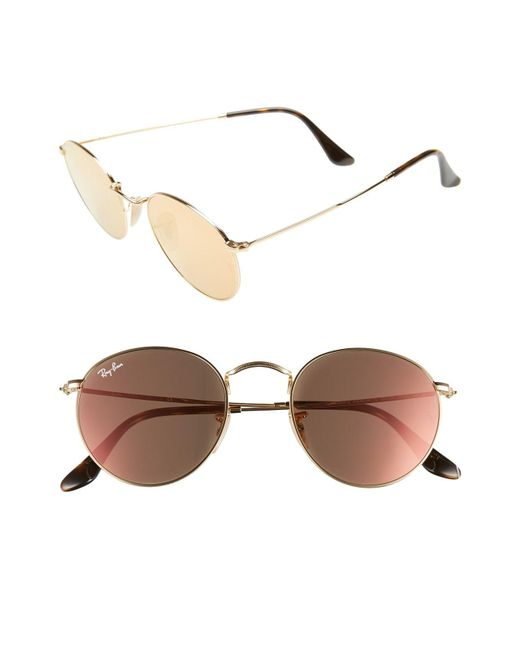 Ray-Ban - Multicolor Icons 50mm Round Sunglasses - Lyst