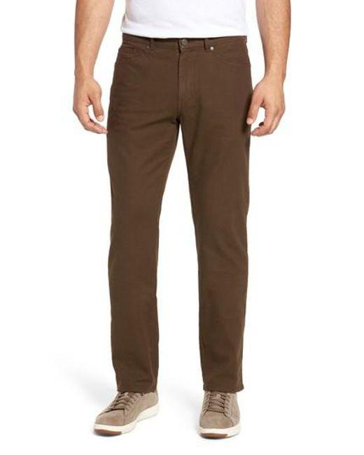 Peter Millar | Brown Crown Vintage Canvas Pants for Men | Lyst