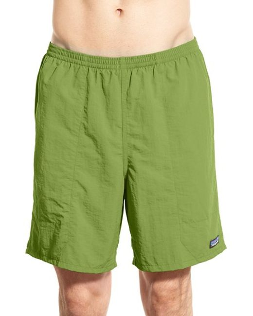Patagonia | Blue 'Baggies Longs' Swim Trunks for Men | Lyst