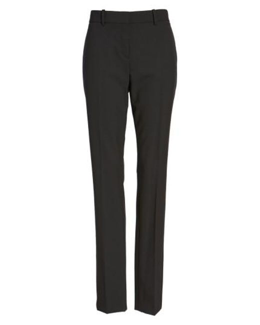 Theory | Black 'super Slim Edition' Stretch Wool Pants | Lyst