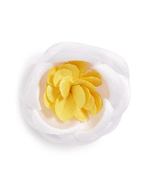 Hook + Albert   Yellow Lapel Flower for Men   Lyst