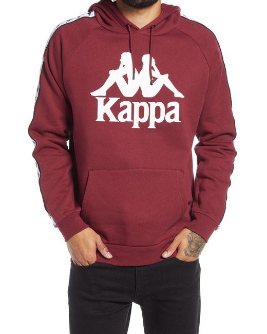 Kappa Red Men's 222 Banda Hurtado Hoodie for men
