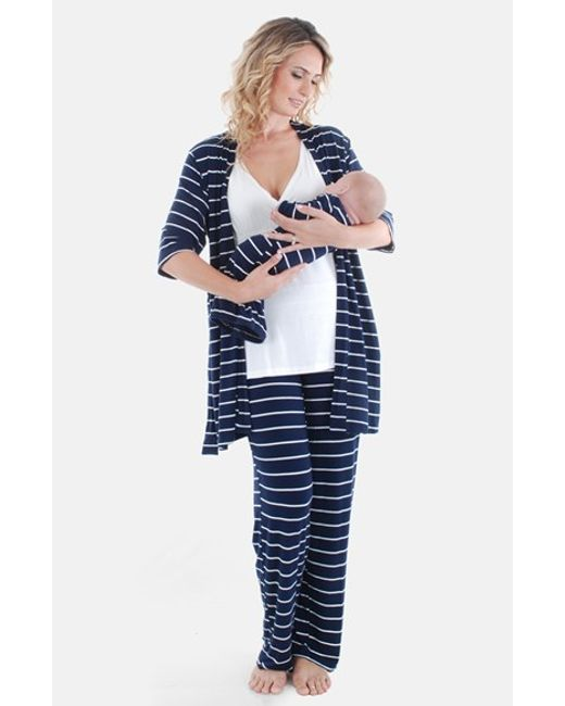 Everly Grey | Blue Roxanne - During & After 5-piece Maternity Sleepwear Set | Lyst