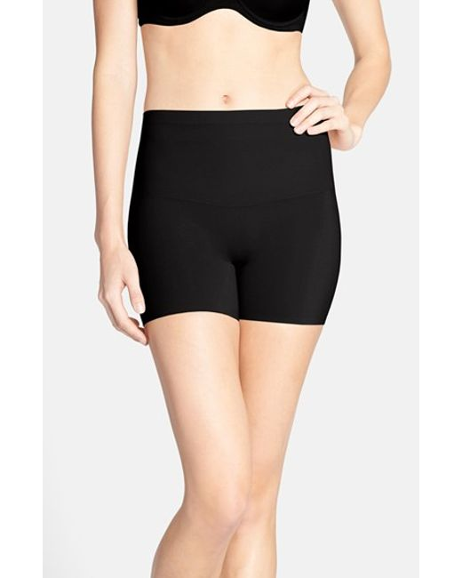Spanx | Black Spanx Shape My Day Girl Shorts | Lyst