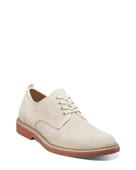 Florsheim | White 'bucktown' Buck Shoe for Men | Lyst