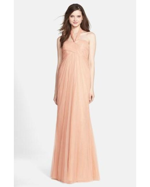 Jenny Yoo | Pink 'willow' Convertible Tulle Gown | Lyst