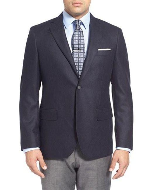 John W. Nordstrom | Blue Classic Fit Cashmere Sport Coat for Men | Lyst