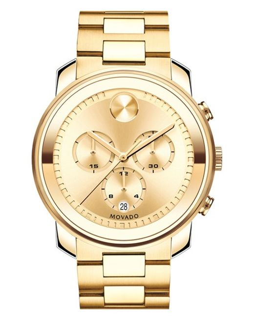 Movado | Metallic 'bold' Chronograph Bracelet Watch for Men | Lyst