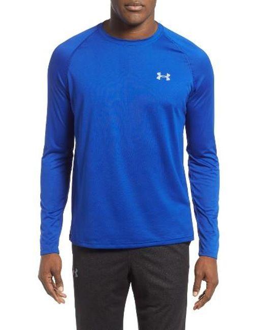 Under Armour | Black Long Sleeve Raglan T-shirt for Men | Lyst