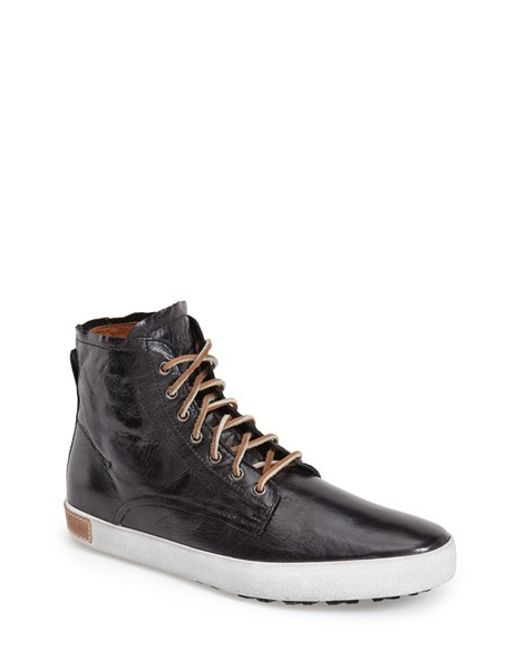 Blackstone | Black 'im 10' Leather High Top Sneaker for Men | Lyst