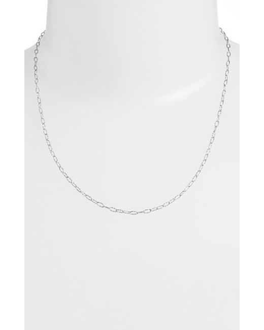 Bony Levy | Metallic Textured Chain Necklace (nordstrom Exclusive) | Lyst