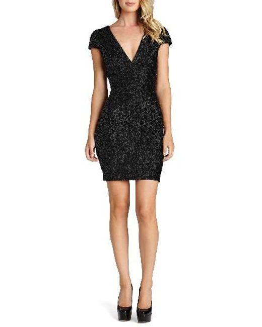 Dress the Population | Blue Zoe Sequin Minidress | Lyst