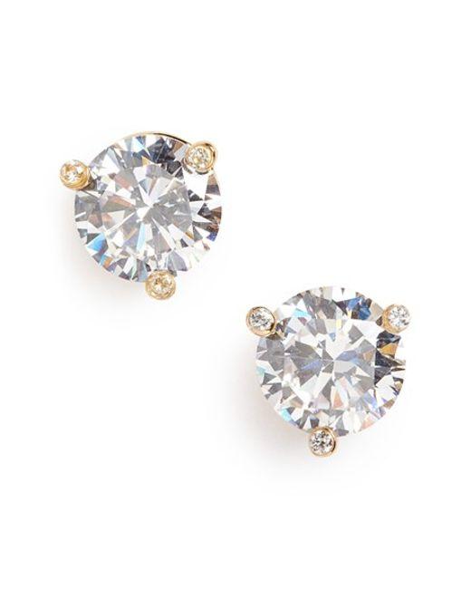 Kate Spade | Metallic 'rise And Shine' Stud Earrings | Lyst