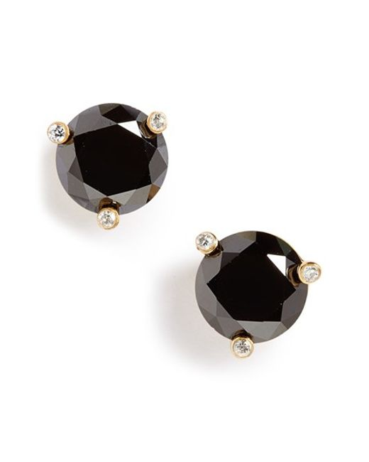 Kate Spade | Black 'rise And Shine' Stud Earrings | Lyst