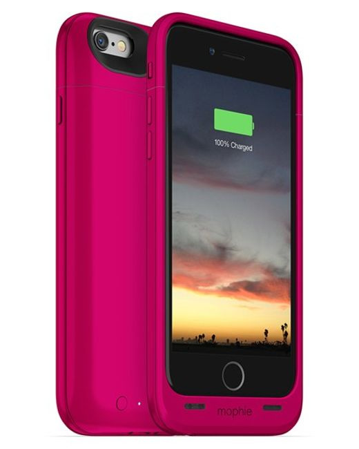 Mophie | Pink Juice Pack Air Iphone 6/6s Charging Case | Lyst