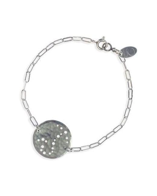 Nashelle | Metallic Ija 'zodiac' Sterling Silver Chain Bracelet | Lyst