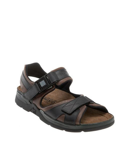 Mephisto | Brown 'shark' Sandal for Men | Lyst