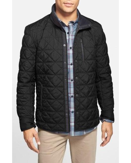 Victorinox   Black 'Bernhold' Quilted Thermore Insulated Jacket for Men   Lyst