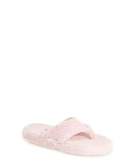 Acorn | Pink Waffle Spa Slippers | Lyst